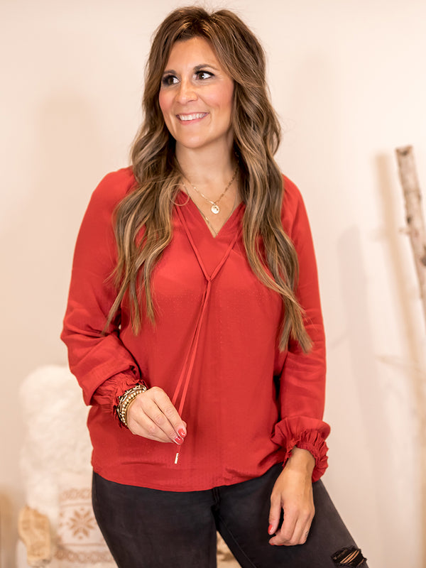 Holly Textured Blouse