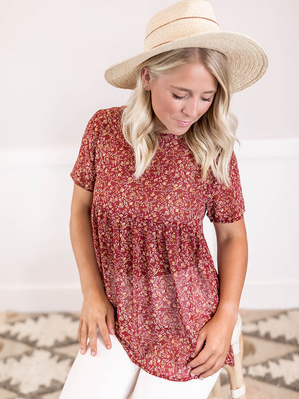 Mika Floral Blouse