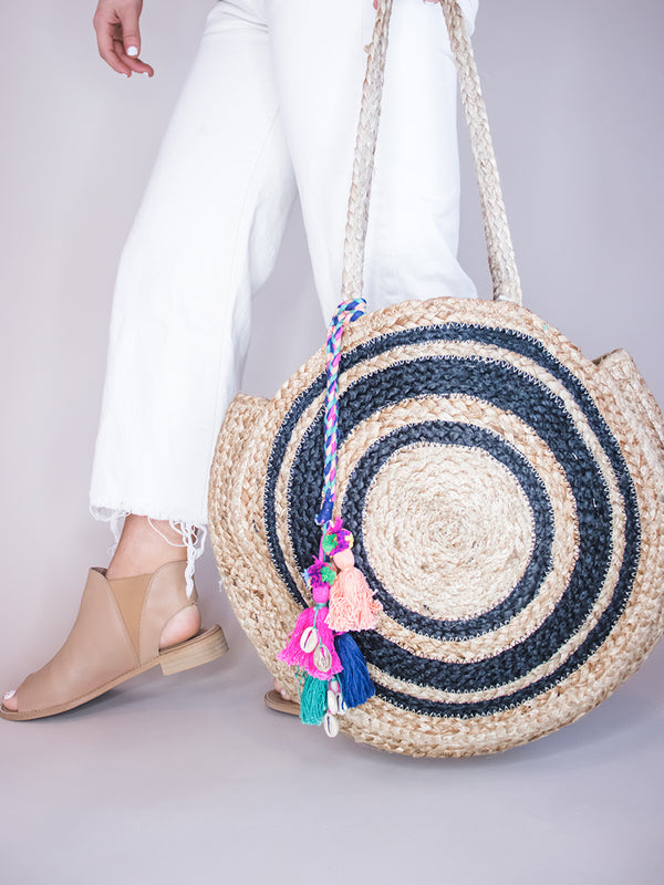 Rollie Straw Bag