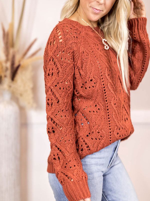 Rachael Loose Knit Sweater