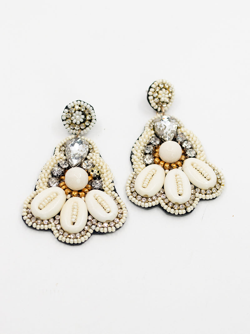 Jeweled Statement Earring