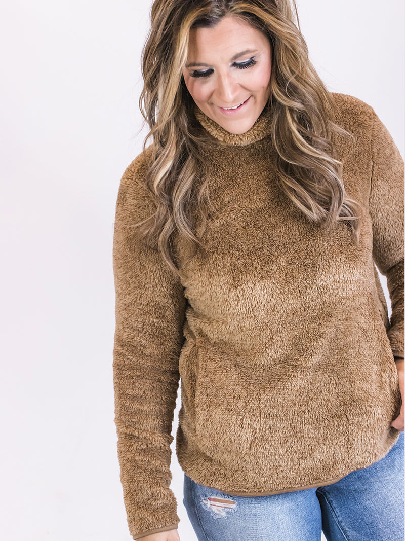 Sherpa Cowl Pullover