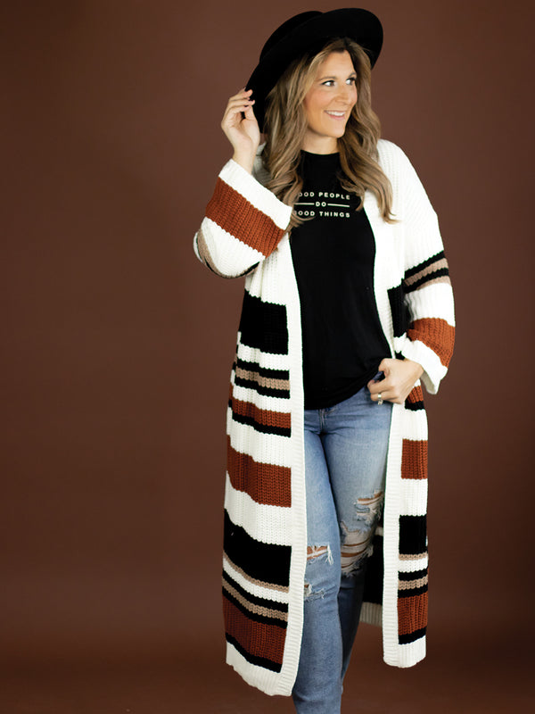 Cassidy Knit Duster Cardi