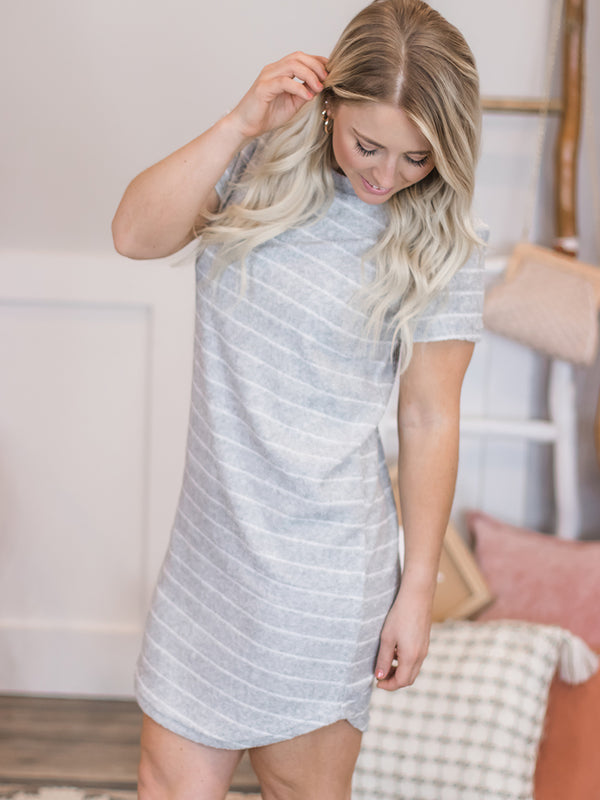 Driftwood Terry Cloth Dress