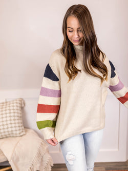 Marni Stripe Sleeve Sweater