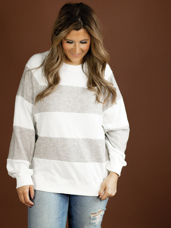 Colorblock Soft Sweater