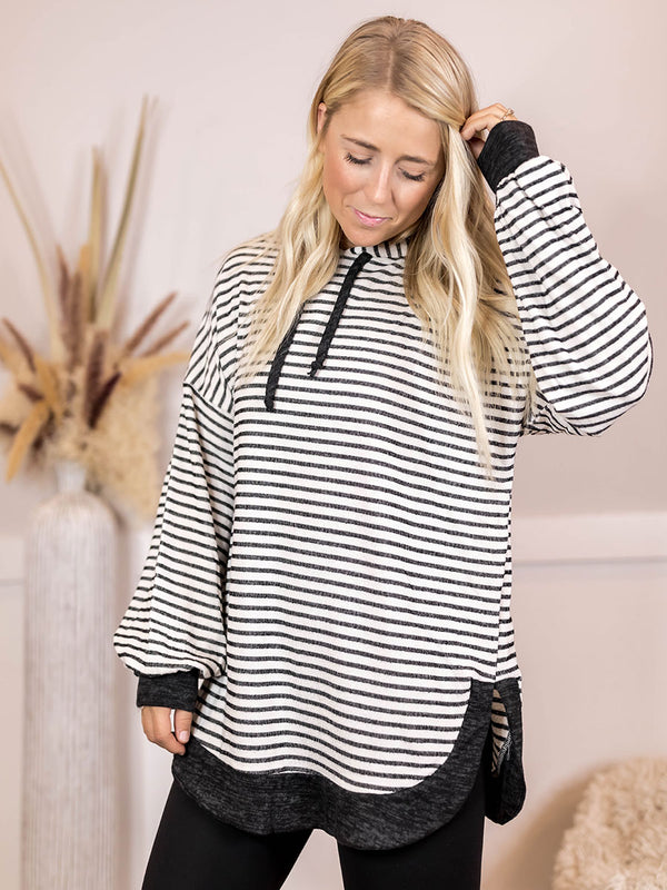 Dana Hooded Tunic