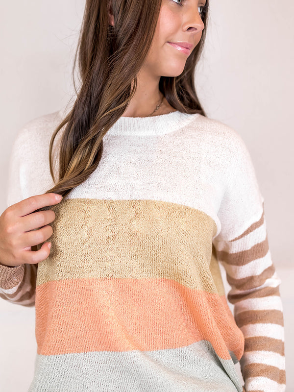 Wide Knit Dolman Pullover