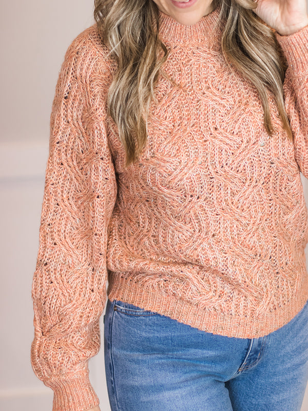 Adella Speckled Knit Sweater