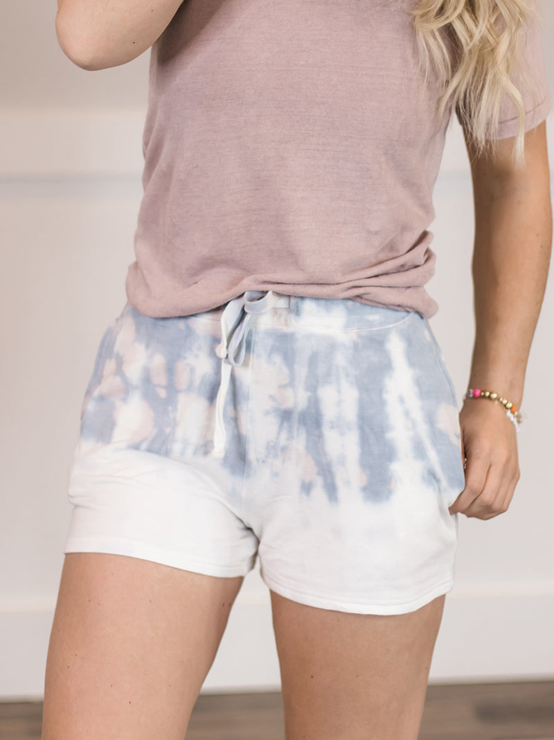 Waters Ripple Tie Dye Shorts