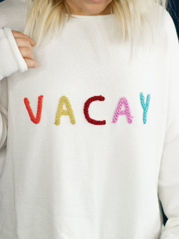 Let's Take a Vacay Sweater