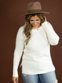 Emilie Soft Ivory Sweater