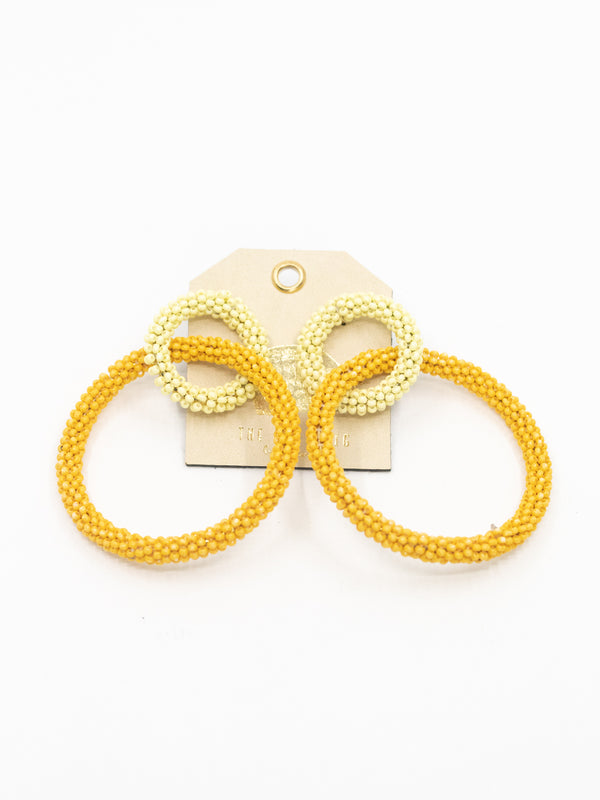Shades of Yellow Earring