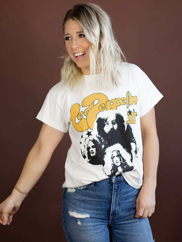 Led Zepplin III Tour Graphic Tee