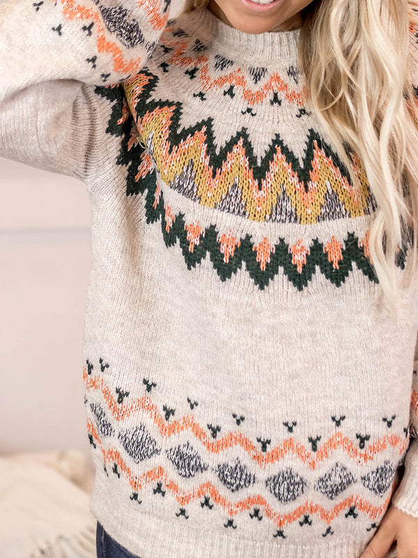 Fall Feels Sweater