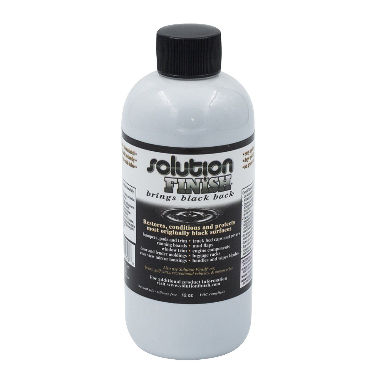 Solution Finish Black Trim Restorer 350ml (184345722906)