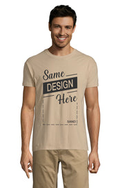 SAND Graphic T-Shirt - Front - ULTRABASIC