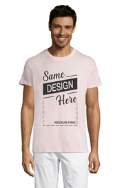 MEDIUM PINK Graphic T-Shirt - Front - ULTRABASIC