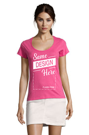 FLASH PINK Graphic T-Shirt - Front - ULTRABASIC
