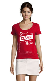 TANGO RED Graphic T-Shirt - Front - ULTRABASIC