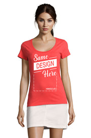 HIBISCUS Graphic T-Shirt - Front - ULTRABASIC