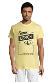 PALE YELLOW Graphic T-Shirt - Front - ULTRABASIC