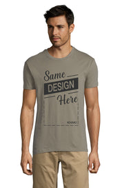KHAKI Graphic T-Shirt - Front - ULTRABASIC