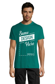 EMERALD Graphic T-Shirt - Front - ULTRABASIC