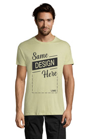 LIME Graphic T-Shirt - Front - ULTRABASIC