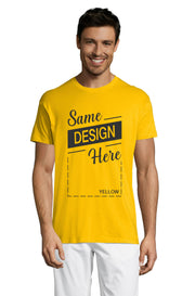 YELLOW Graphic T-Shirt - Front - ULTRABASIC