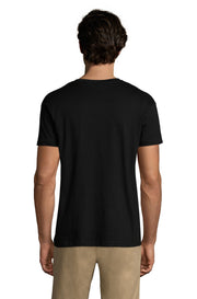 Men's Black Graphic T-Shirt - Back - ULTRABASIC