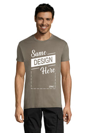 ZINC Graphic T-Shirt - Front - ULTRABASIC