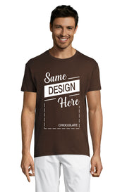 CHOCOLATE Graphic T-Shirt - Front - ULTRABASIC