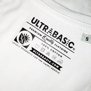 Women's White Graphic T-Shirt - Tag - ULTRABASIC