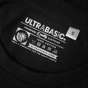 Unisex Black Graphic Hoodie - Tag - ULTRABASIC