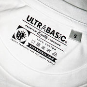 Men's White Graphic T-Shirt - Tag - ULTRABASIC