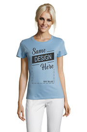 SKY BLUE Graphic T-Shirt - Front - ULTRABASIC
