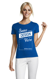 ROYAL BLUE Graphic T-Shirt - Front - ULTRABASIC