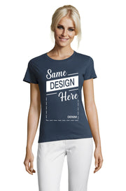 DENIM Graphic T-Shirt - Front - ULTRABASIC