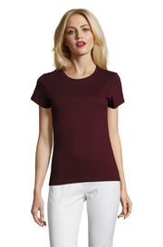 BURGUNDY Graphic T-Shirt - Front - ULTRABASIC