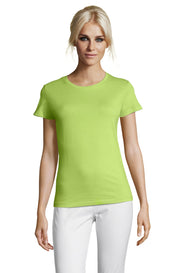 APPLE GREEN Graphic T-Shirt - Front - ULTRABASIC
