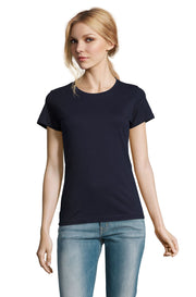 FRENCH NAVY Graphic T-Shirt - Front - ULTRABASIC