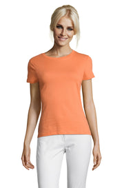 APRICOT Graphic T-Shirt - Front - ULTRABASIC