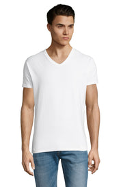 WHITE Graphic T-Shirt - Front - ULTRABASIC