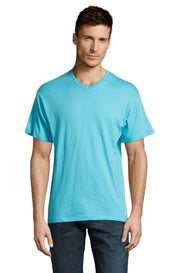 ATOLL BLUE Graphic T-Shirt - Front - ULTRABASIC