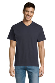 NAVY Graphic T-Shirt - Front - ULTRABASIC