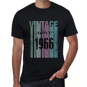 '1966, Vintage Since 1966 <span>Men's</span> T-shirt Black Birthday Gift 00502 - ULTRABASIC