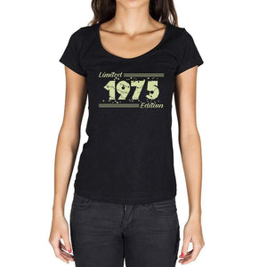 1975 Limited Edition Star, Women's T-shirt, Black, Birthday Gift 00383 - ultrabasic-com