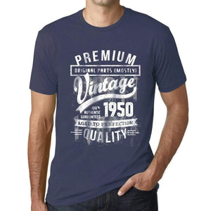 Ultrabasic - Homme T-Shirt Graphique 1950 Aged to Perfection Tee Shirt Cadeau d'anniversaire