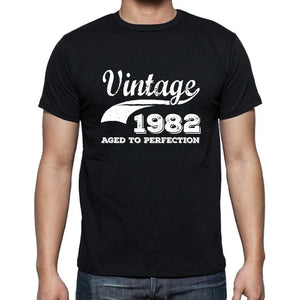 Vintage 1982, Aged to Perfection, Cadeau Homme t Shirt, Tshirt Homme Anniversaire, Homme Anniversaire Tshirt